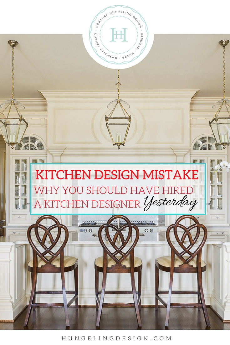 """ When to hire a kitchen designer "" is a lot like the question "" when is the best time to plant a tree? "" Twenty years ago is the answer to the latter question (just in case you aren't familiar with the saying). As for the answer to that first question...well, if you find yourself staring at a bunch of 2x6's that loosely resemble the shape of your future home and you still haven't hired a  kitchen designer , then you're behind the eight ball my friend. However, you have plenty of company, because that's a big mistake that we see homeowners make a lot in our business. So today I'm going to make a case for why you need a kitchen and bath designer on board with your project as soon as possible."