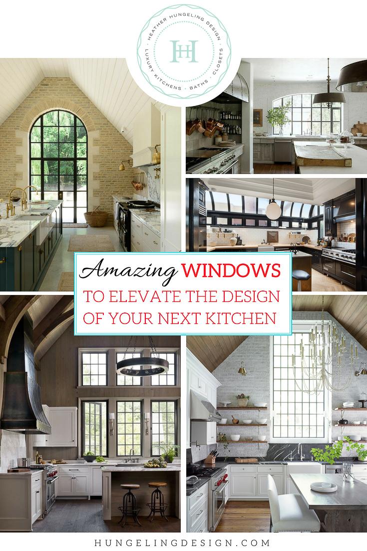 Large Kitchen Window Design Ideas Heather Hungeling