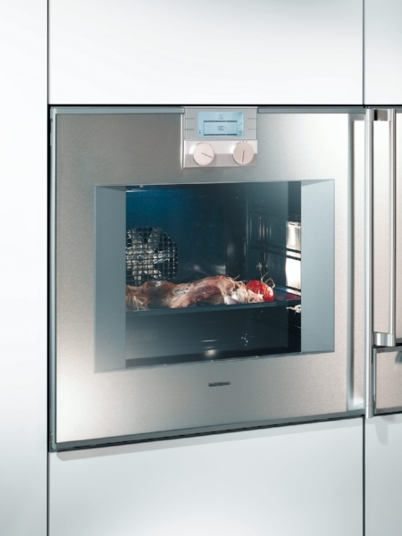 Gaggenau's side-swinging wall ovens are a great investment item for a dream kitchen.