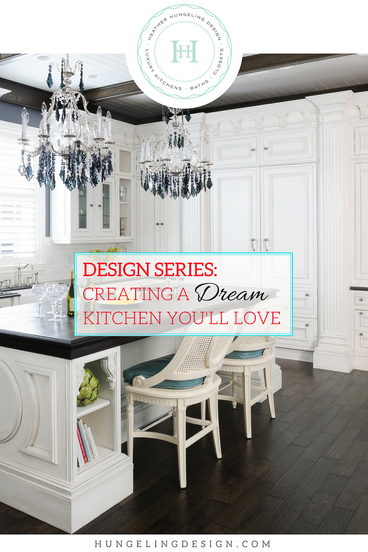 No matter how great every other detail of your future dream kitchen is, you won't be truly happy with it unless you adhere to this list of important characteristics. It's a little bit like selecting a future spouse…you'll want that person to have good character, respect your need for space, be steadfast, neat as a pin…come join me as I explain these traits and others in today's post about CREATING A DREAM KITCHEN YOU CAN LOVE FOREVER.  #dreamkitchen, #whitekitchens, #clivechristian, #luxurykitchendesigner, #kitchendesign, #kitchenlayout