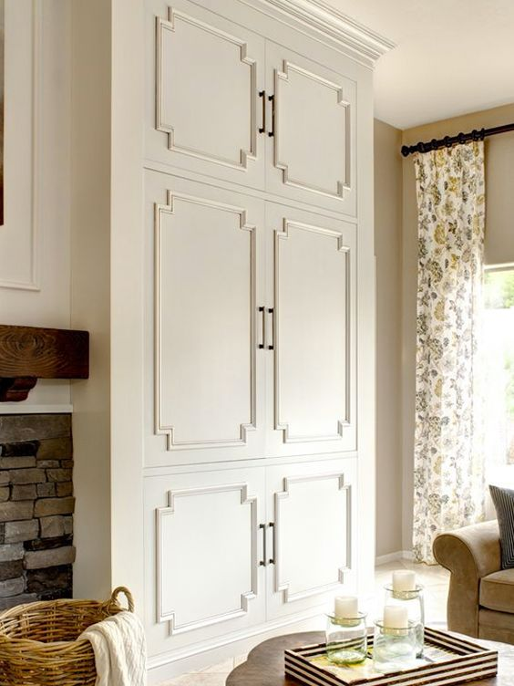 Panel moldings can be used to create interesting shapes and patterns for cabinetry. Discover other ways you can add personality to your next kitchen with unique details and cabinet door styles.