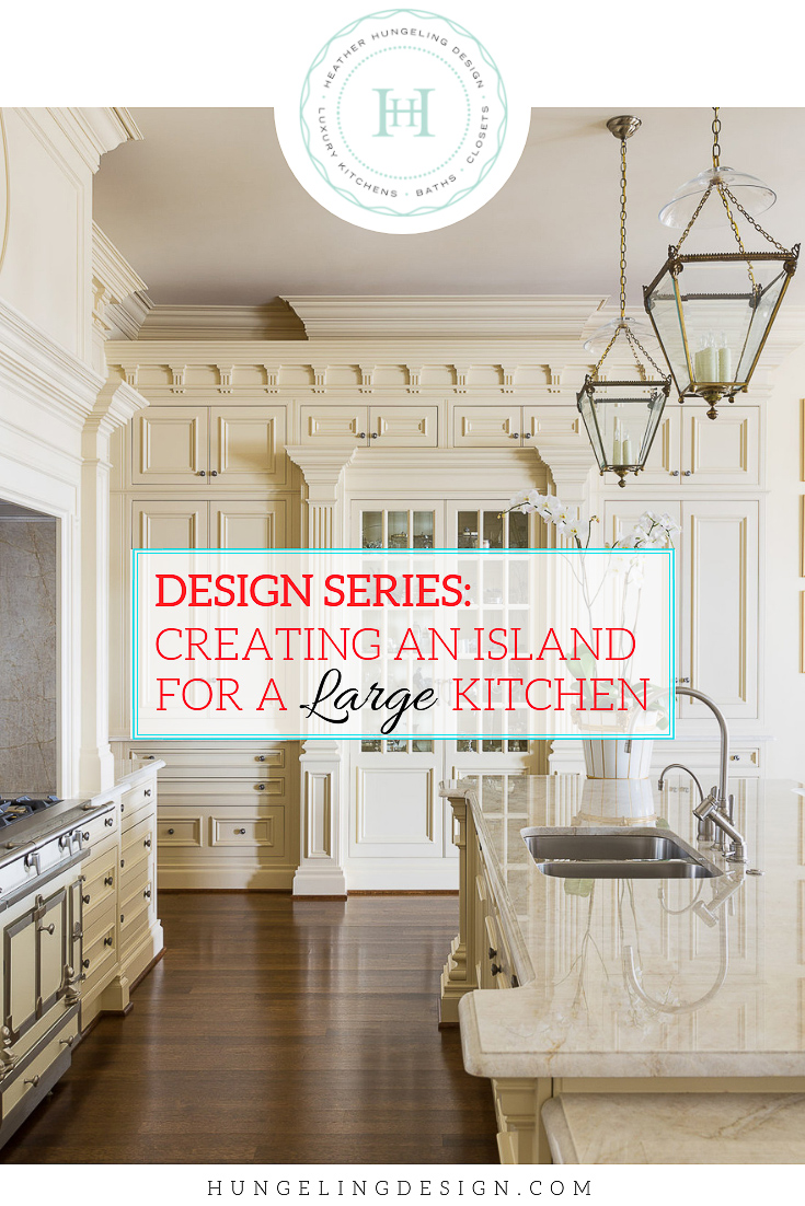 What size is too large for a kitchen island? When is it best to have two islands instead of one large kitchen island? In this DESIGN SERIES post, I'm walking you through various design considerations for creating an island for a large kitchen.  #kitchendesign, #luxurykitchens, #kitchenlayout, #clivechristian