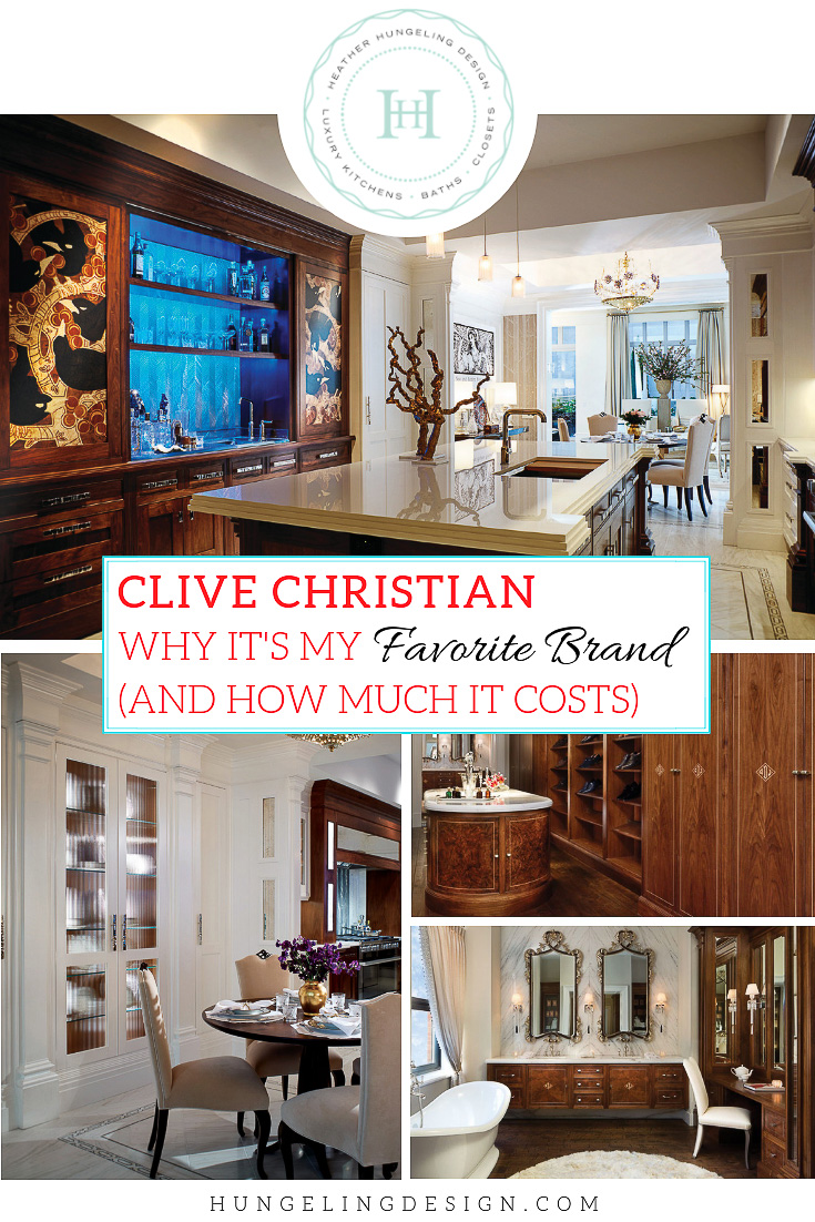 Clive Christian - My Favorite Top Tier Brand of Cabinetry ...
