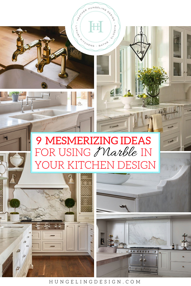 So you've decided to go all in with marble. You've found a few slabs that you love and you're brushing off all the naysayers around you. Excellent. Now check out these 9 stylish kitchen marble ideas to bring more of that marble you love into your new kitchen design.
