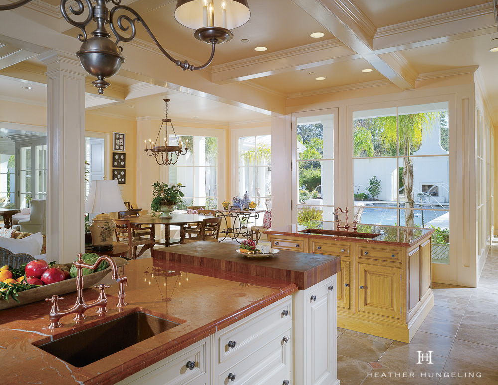 Designing A Large Kitchen Island Heather Hungeling Design