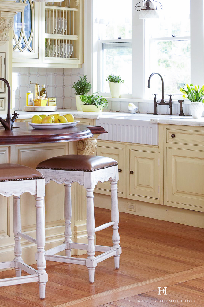 Oiled wood countertops for the kitchen are far more practical and durable than most people realize. If maintained with oil periodically, the top will become rich and infused with the oil, making it extremely repellent to staining.