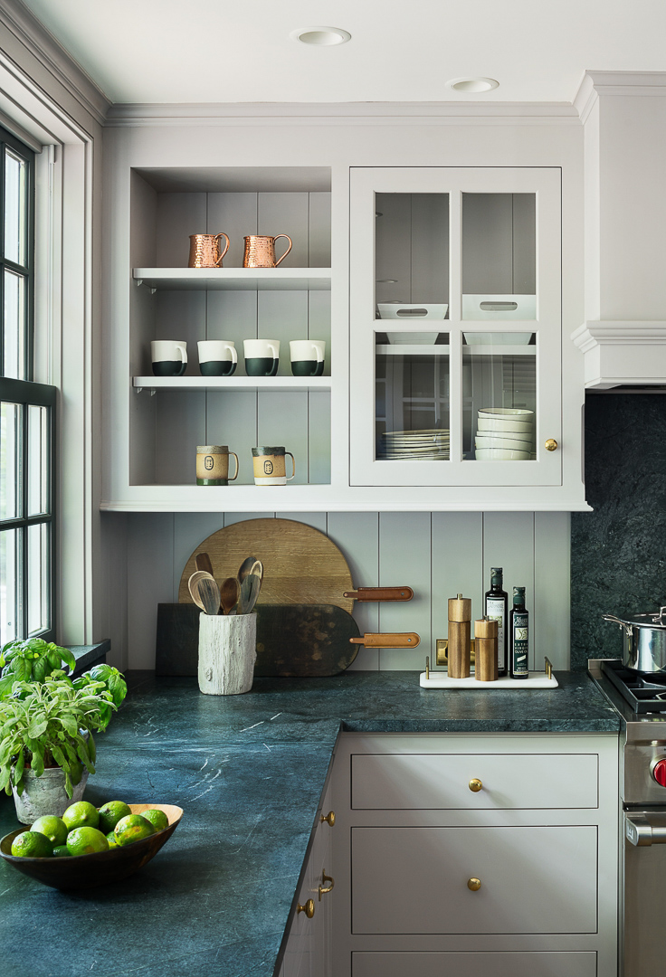 Soapstone counters have never been out of style, although they do go up and down in popularity over the years. We'll see a return of appreciation for this natural material in a world that has been mostly ignoring it while it was busy pursuing engineered materials.  Kitchen Trends 2019 . #kitchentrends, #luxurykitchens, #kitchendesignideas