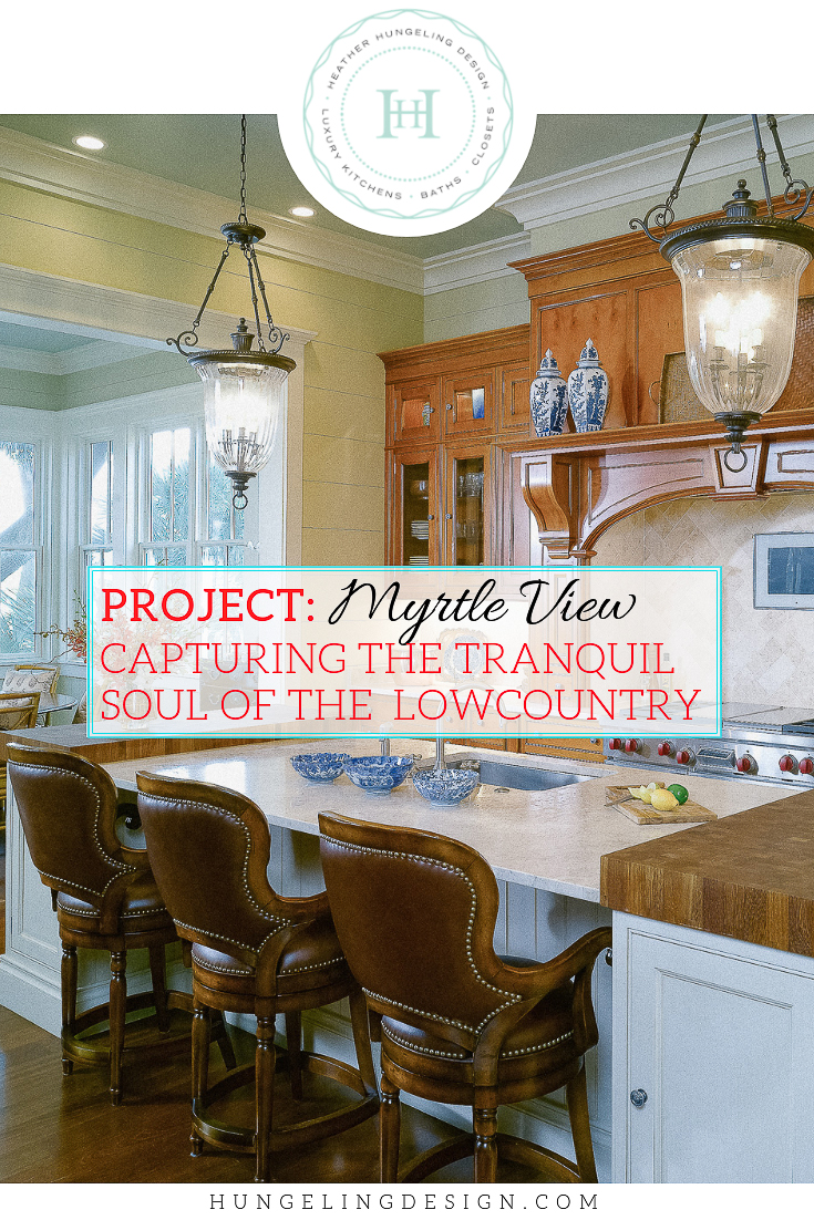 A Lowcountry home can teach us a lot about combining sophistication with simplicity. Southerners are known for their love of traditional design and classical details, but when you merge that with the laid-back lifestyle of Coastal South Carolina you get a livable and approachable elegance that is hard to beat. #luxurykitchendesigns, #clivechristian, #traditionalkitchens
