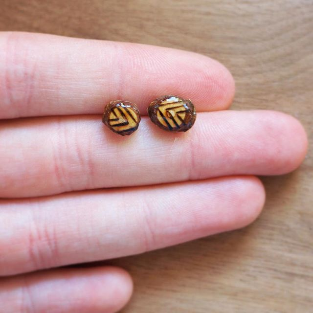 Good morning everyone!! Hope you guys have an awesome Monday! Today I'm working on creating some listings for new studs, so keep an eye out 😉💕 . . . #etsy #etsyshop #etsyfinds #etsyseller #handmade #ladydryad #studs #earrings #pyrography #woodworking #woodburning #chevron #arrow #bohemian #bohochic #bohostyle #ootd #currentlywearing #instastyle #rustic #handcrafted #maker #shoppingaddict #shopaholic #tinystuds #hippie #hippiestyle #hippy #hippylife #california