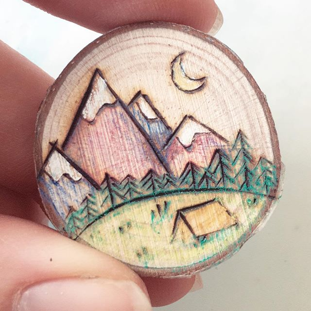 A little landscape 🏔❤️ . . . #etsy #etsyshop #etsyfinds #etsyseller #ootd #woodslice #ladydryad #handmade #mountain #landscape #handcrafted #moon #moonphase #currentlywearing #wooden #rustic #bohemian #bohochic #bohostyle #bohofashion #fashion #style #styleblogger #mountains #mountainrange #travel #explore #adventure #backpacking #camping