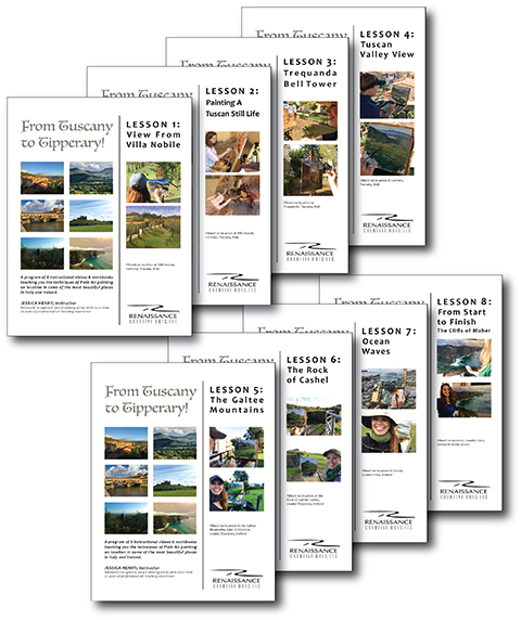 2 travel WORKSHOPS IN1 COMPREHENSIVE PROGRAM! - You Get8 VIDEO LESSONSWITH8 COMPANION WORKBOOKS