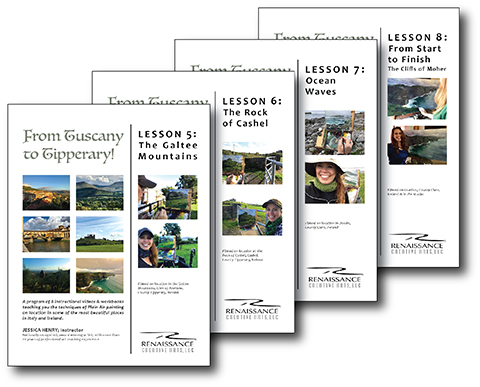 SECOND 4 VIDEO LESSONS WITH 4 COMPANION INSTRUCTIONAL WORKBOOKS IRELAND