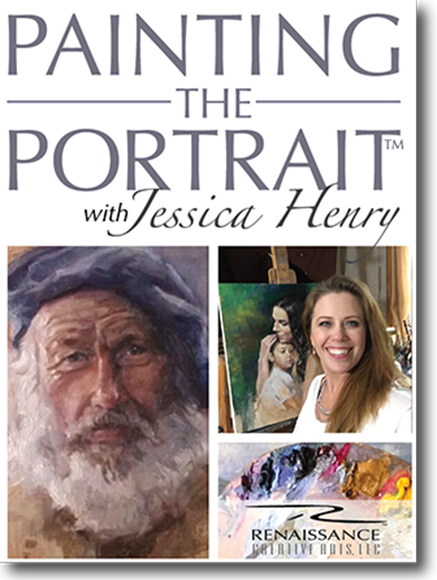 video lesson & companion workbook - DISCOVER A PROVEN METHOD OF PORTRAIT PAINTING TO CAPTURE LIKENESS & PERSONALITY!