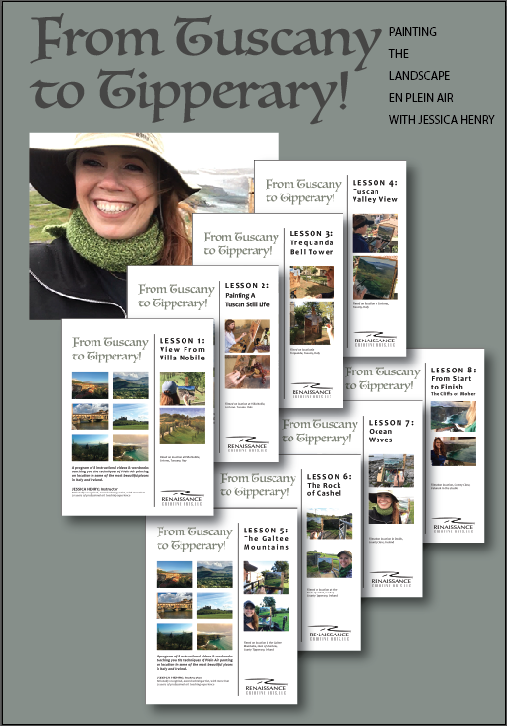 8 VIDEO LESSONS & COMPANION WORKBOOKS - PAINTING THE LANDSCAPELEARN TOP TECHNIQUES FOR SUCCESSFUL PLEIN AIR PAINTING!
