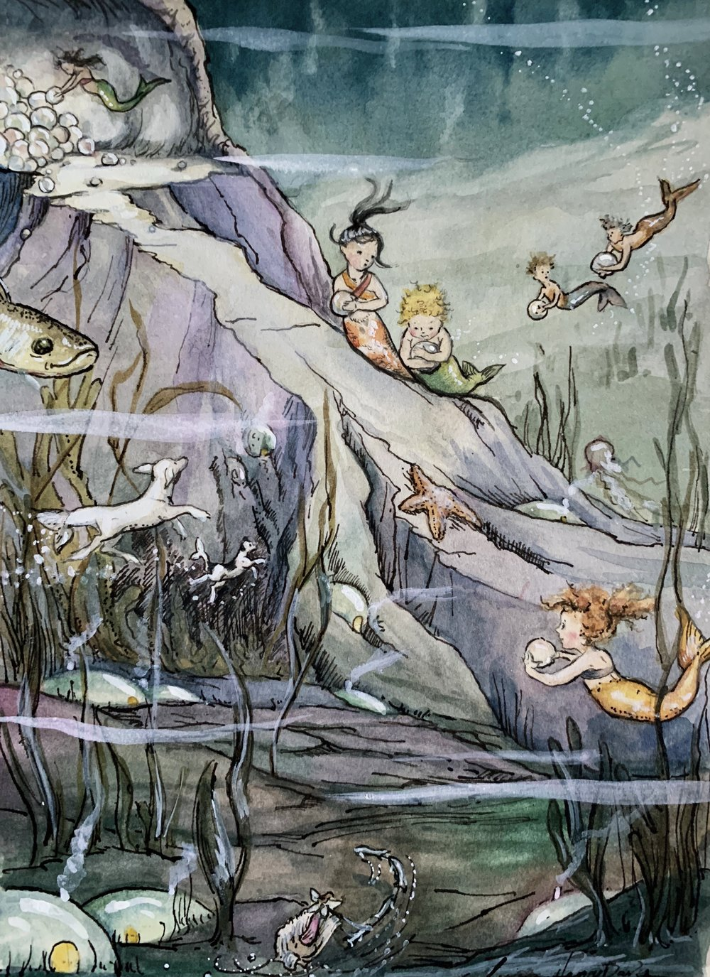 Victorian Watercolor