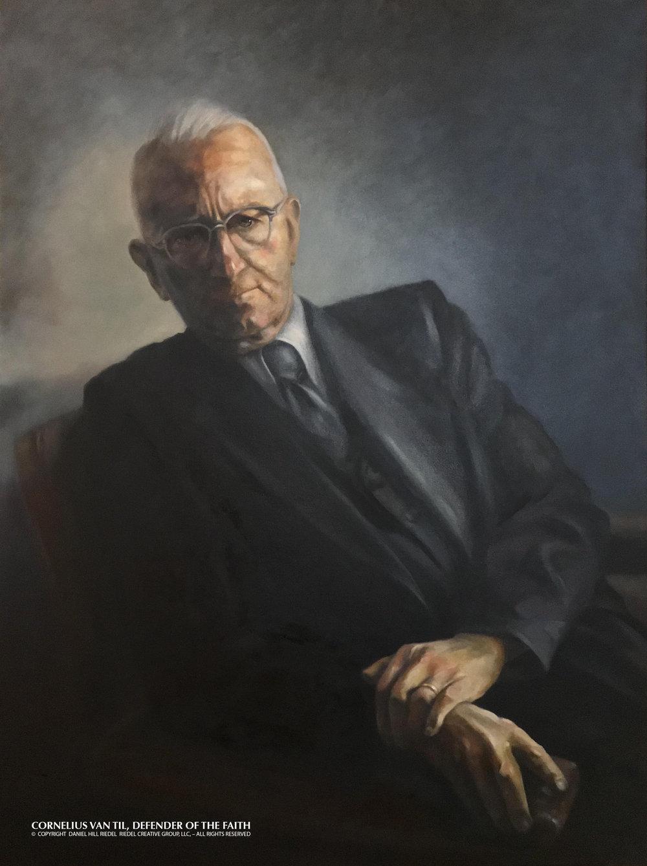 Dr. Cornelius Van Til, Commemorative Portrait