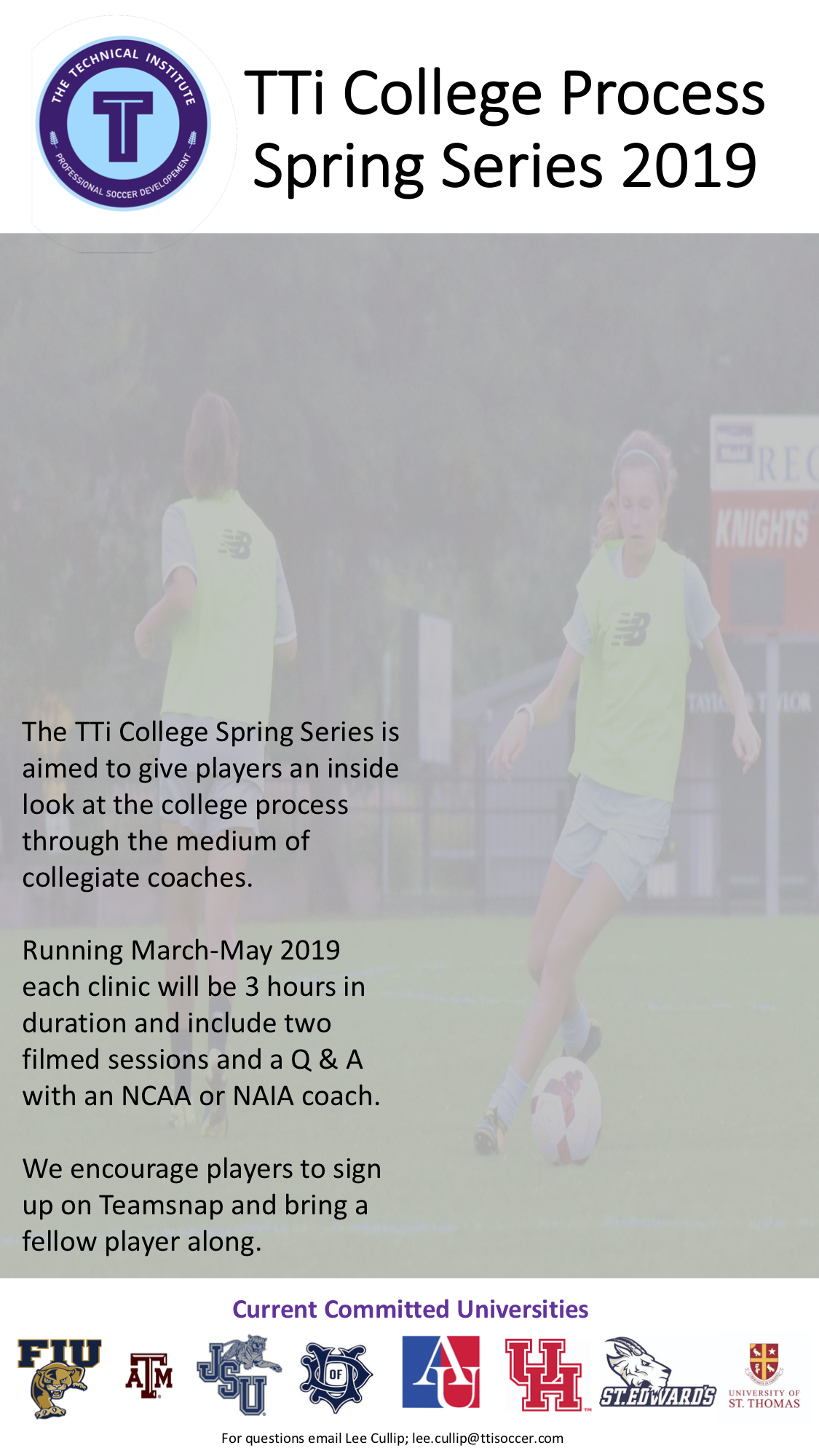 College Series Coming Soon to TTi — The Technical Institute