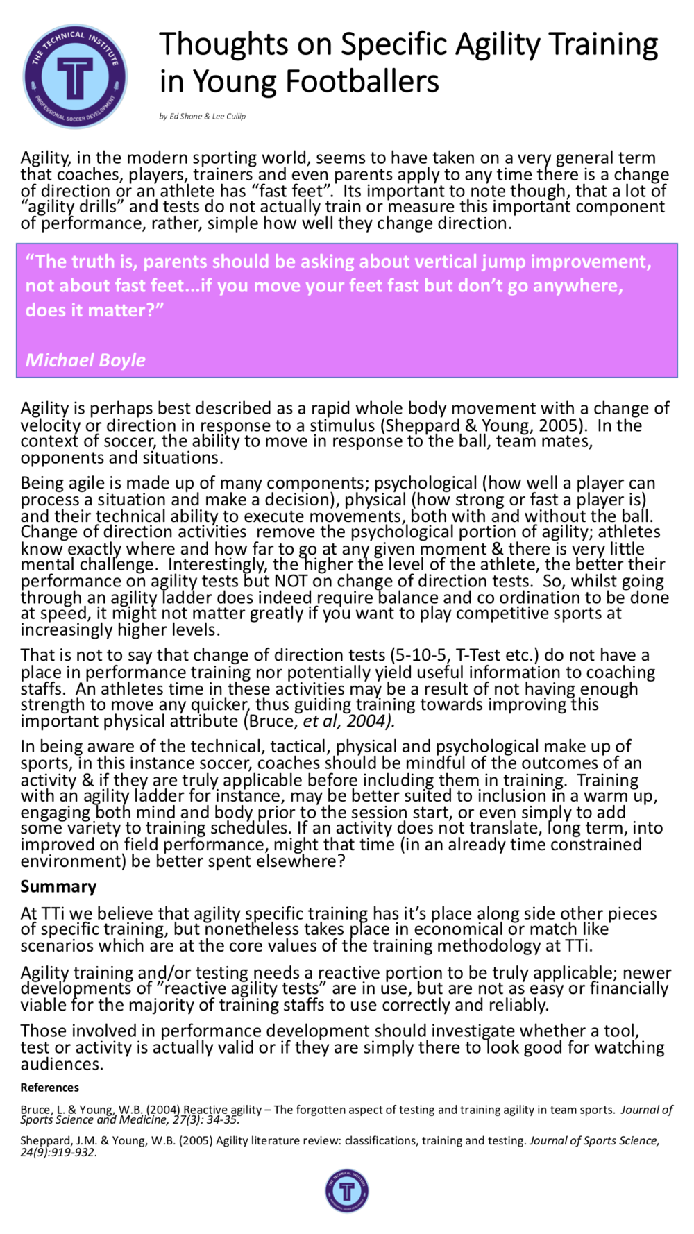 TTi SS Agility Article.png