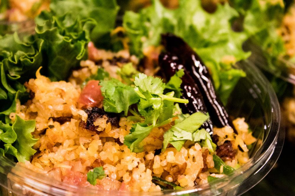 Naam Khao - Pork fried rice