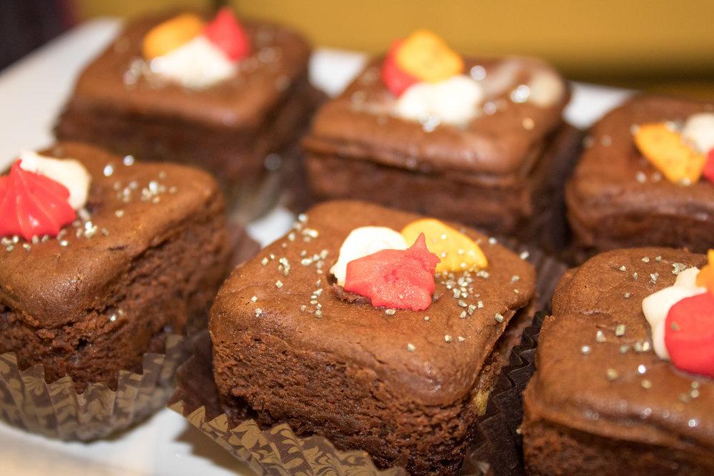 Passion Fruit Liqueur Brownies