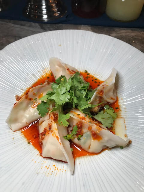 Happy Hour Shrimp Dumplings