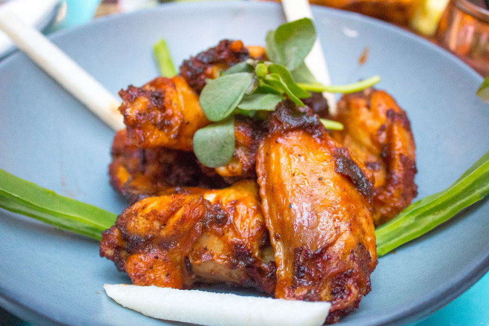 CHIPOTLE BBQ WINGS