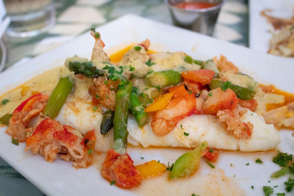 Lemon Pepper Lobster Omelete