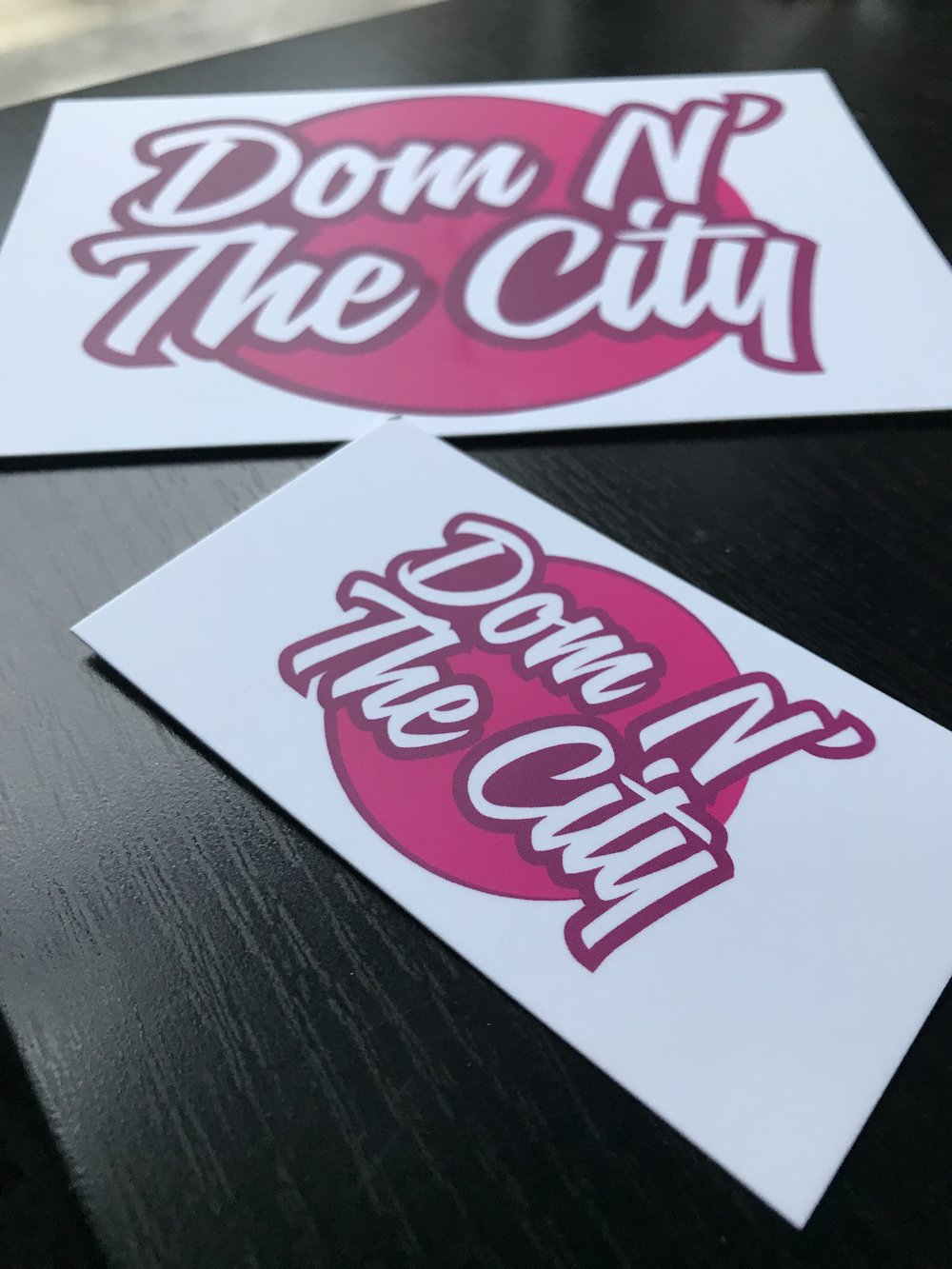 Branded postcards and business cards