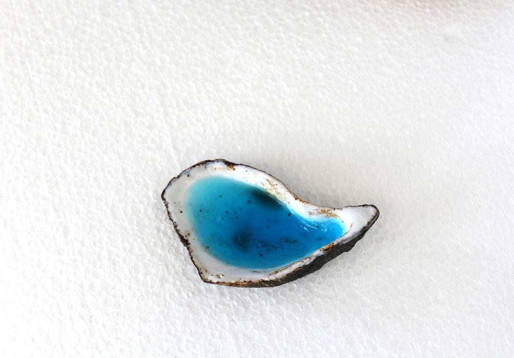 Victoria Adam, Untitled, 2015. Glazed ceramic, antibacterial hand soap. Image courtesy of the artist.