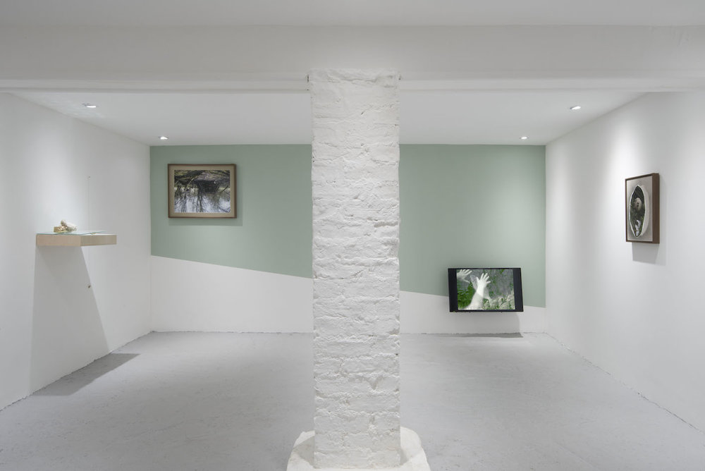 Kate McMillan, Stones for, Dancing, Stones for Dying, 2016. Installation view at Castor Projects.