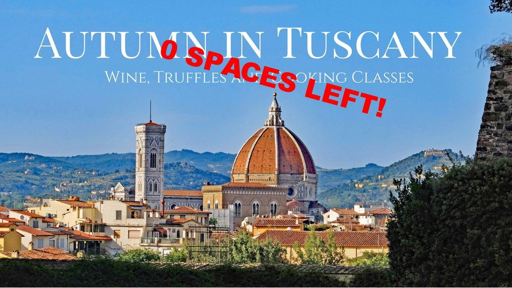 September 16-22, 2018 - Eat. Cook. Explore. Experience Tuscany as you never have before in this incredible 7-day culinary adventure in the heart of Tuscany.
