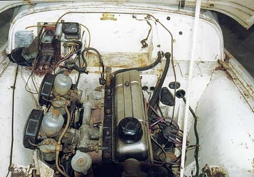 3. TR2 engine bay pre-restoration.jpg