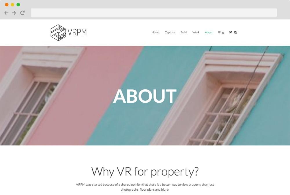 VRPM - Real Estate Startup