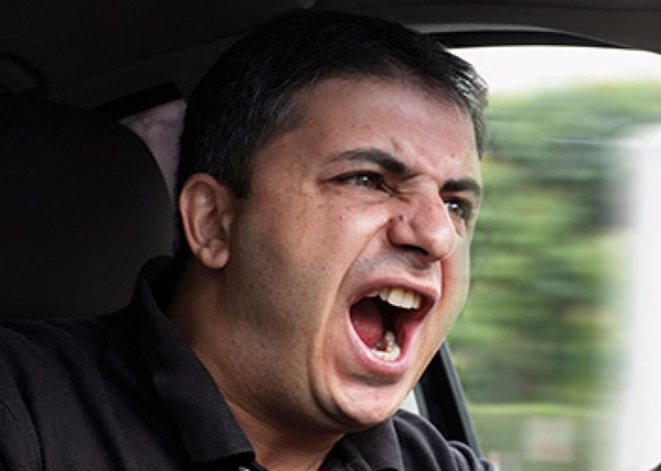 You could be yelling like this guy.