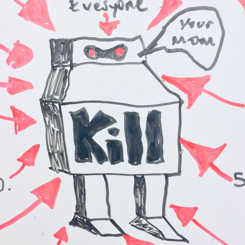 THE EVOLUTION OF THE KILL BOT - BYPITCH'S SCI-FI AND HORROR TEAM
