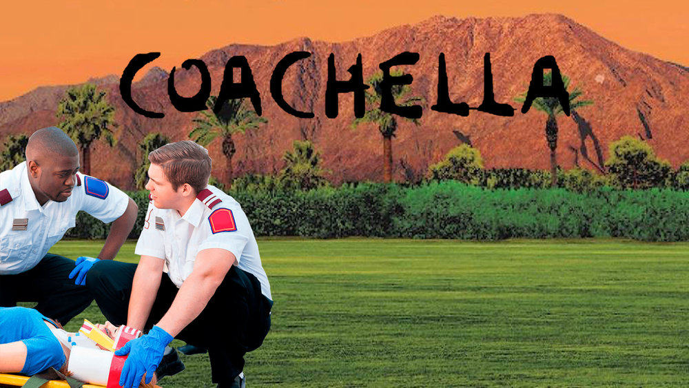 A day at Coachella, as told by an EMT - by Ian Ager