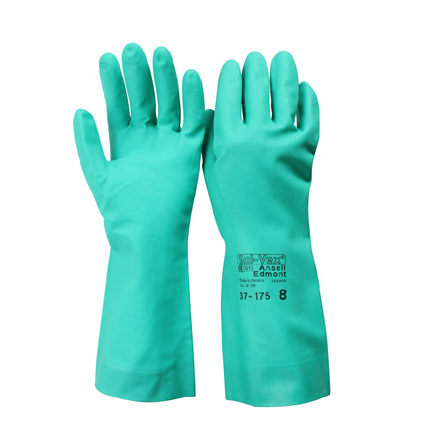 Ansell chemical gloves -