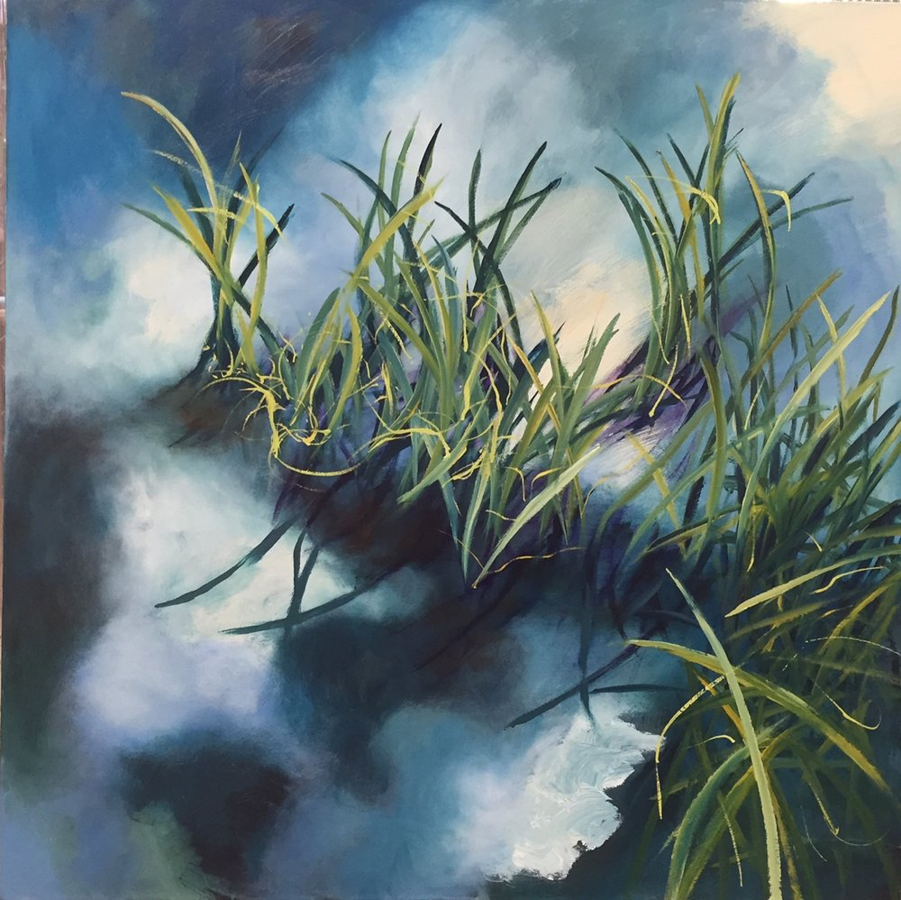 GRASS, 40X40. oil on canvas.jpg