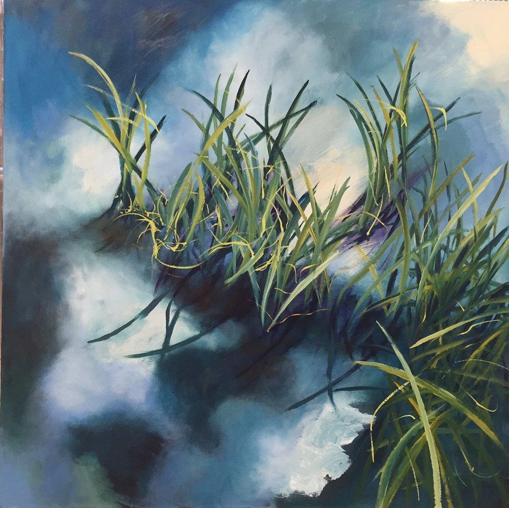 GRASS, 40X40. oil on canvas.jpg