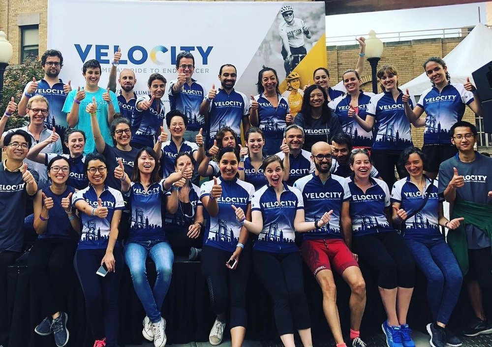 Columbia Velocity Ride to End Cancer 2018
