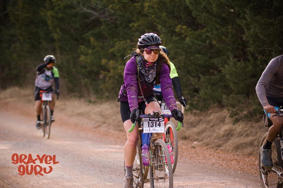 Land Run 100 - By Cassie Santana of BFF Bikes Racing