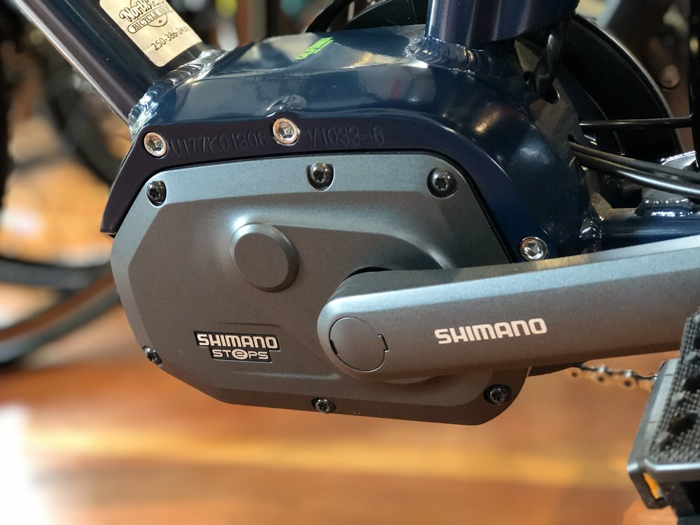 Shimano STePS mid-drive system