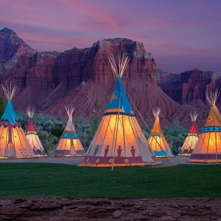 yurts & Tipis -