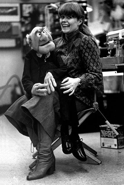Bonnie Erickson, whose parents lived in Alexandria for more than 30 years, designed and built iconic Muppet characters such as Miss Piggy and the two hecklers Statler (pictured) and Waldorf. Photo by Wayde Harrison.