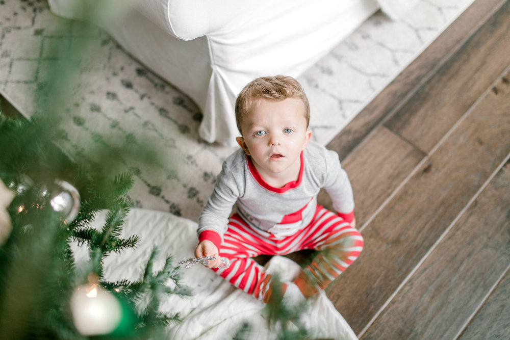 My Home for the Holiday's | Minimalism | Christmas Decor | Pottery Barn Christmas | 3 Year old Boy + Santa PJ's