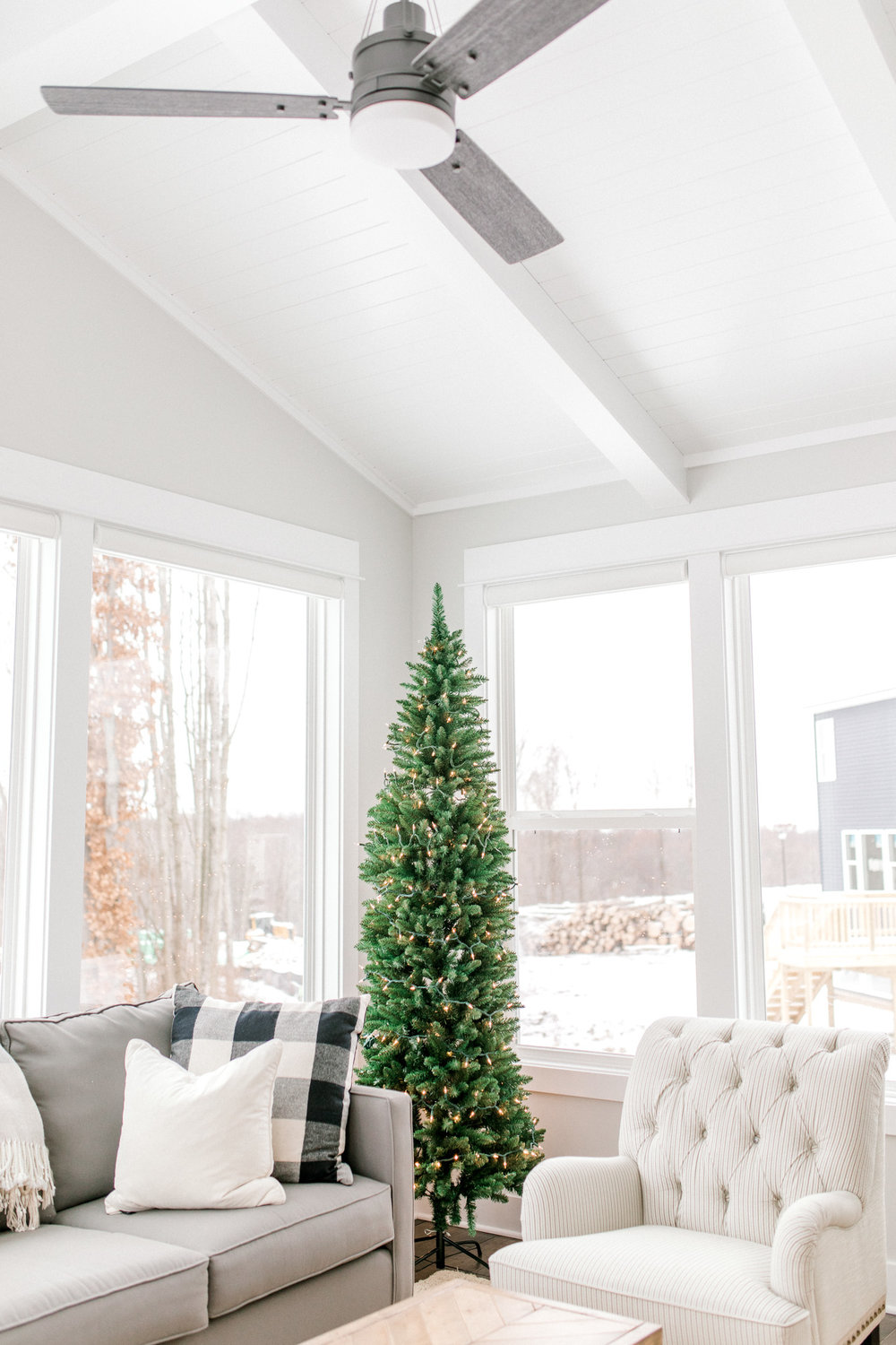 My Home for the Holiday's | Minimalism | Christmas Decor | Skinny Christmas Tree