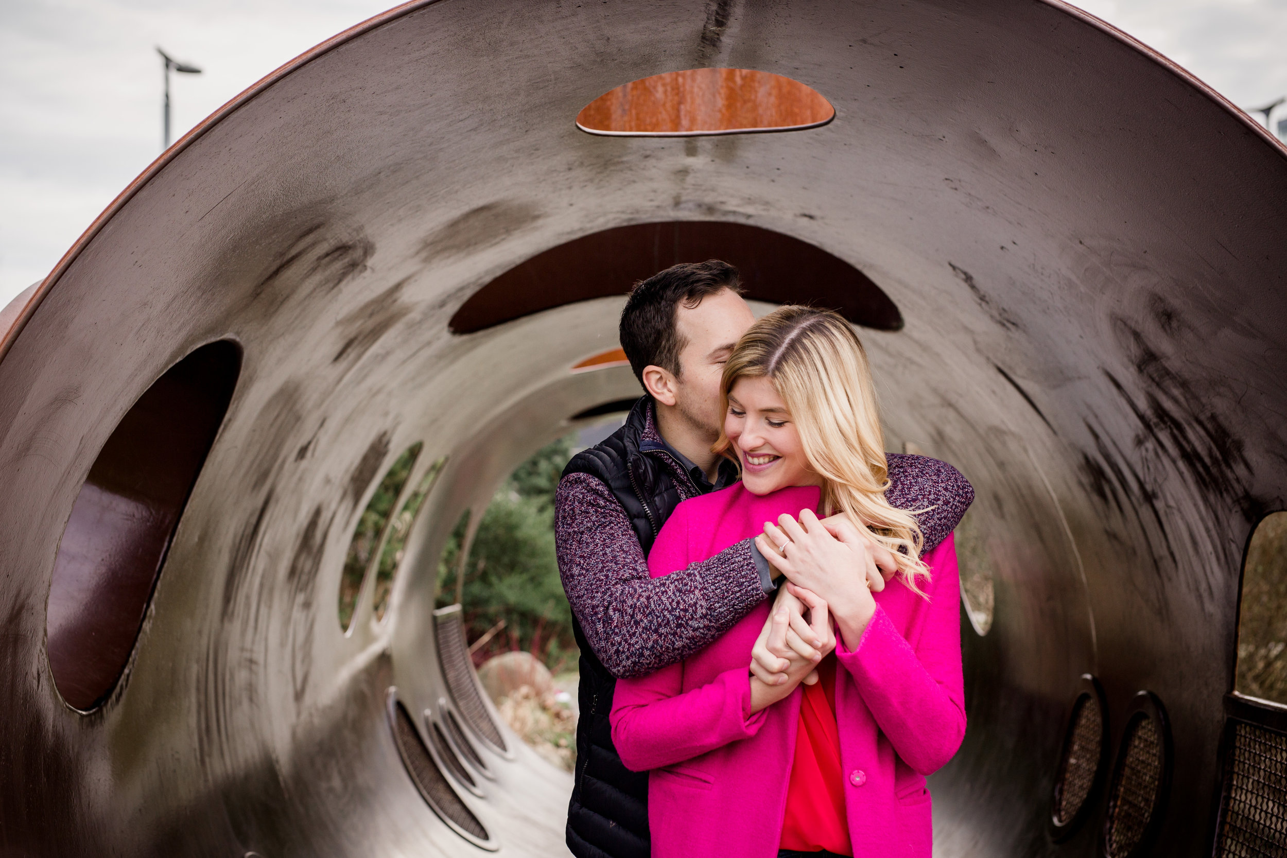 vancouver engagement photos, false creek, vancouver photographer