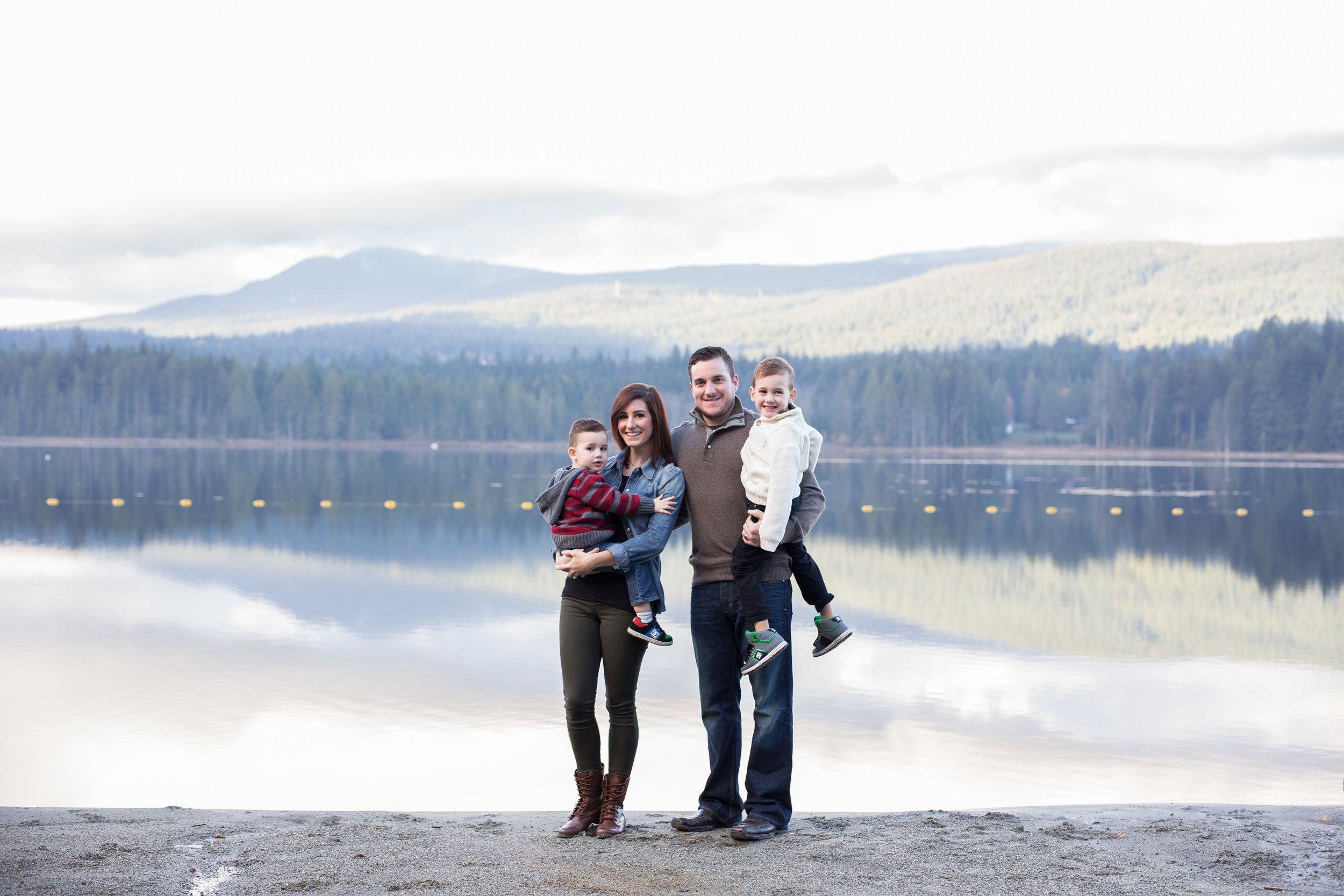 whonnock lake family session