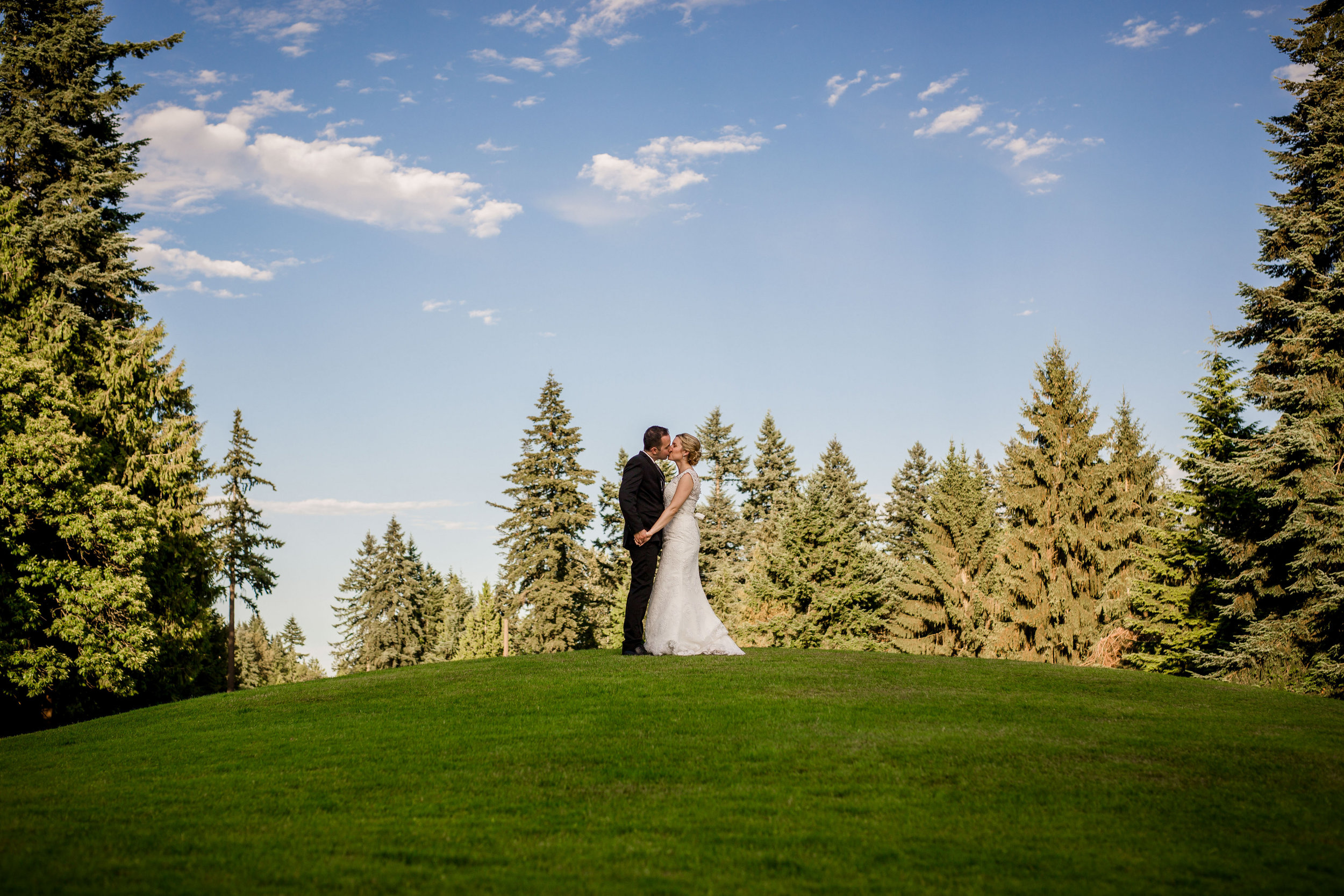 vancouver golf course wedding