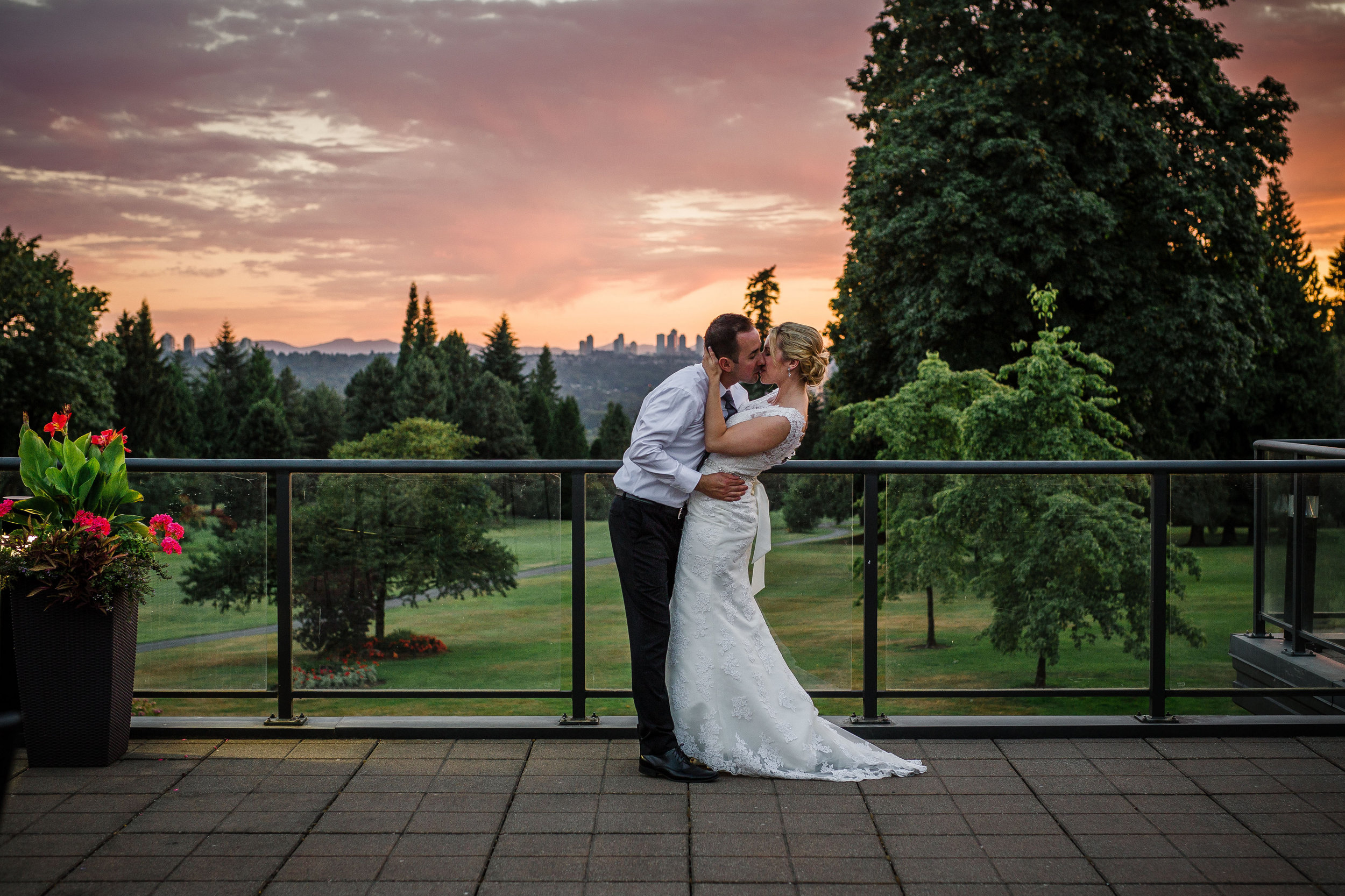 wedding at vancouver golf club